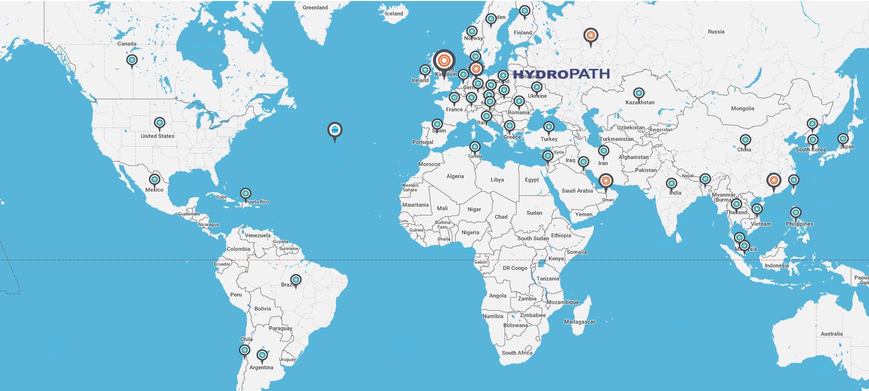 mapa hydropath